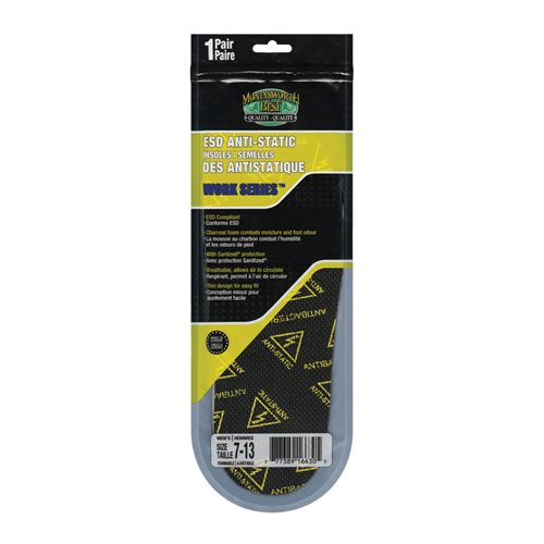 WORK SERIES™ ESD ANTI-STATIC INSOLES