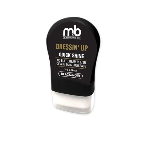 DRESSIN' UP QUICK SHINE NO BUFF CREAM POLISH - ASSORTED COLOURS