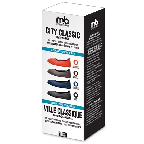 CITY CLASSIC RUBBER OVERSHOES - ASSORTED COLOURS AND SIZES