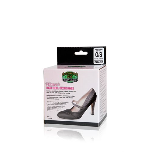 HIGH HEEL OVERSHOES - ASSORTED SIZES
